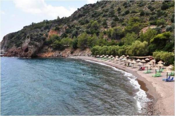 Παραλίες στα Μέθανα