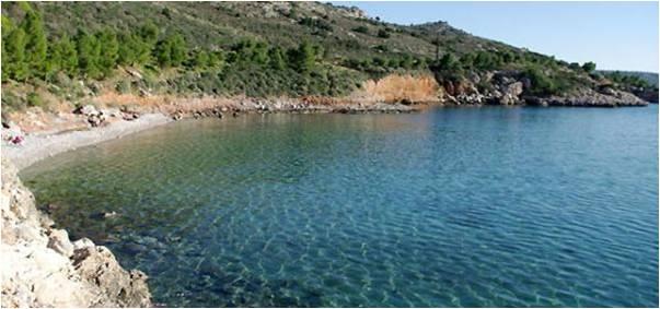 Παραλία Νεράκι στο Ναύπλιο